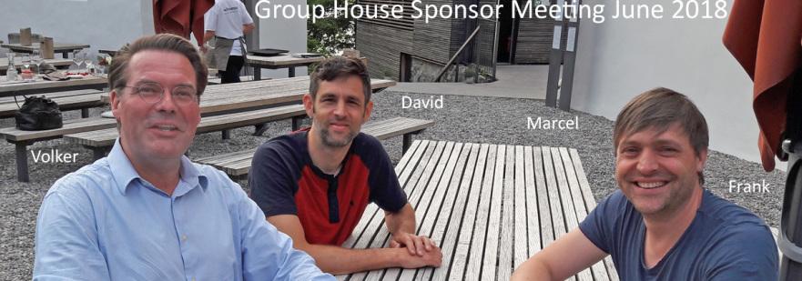 Group House Kiboga Sponsoren : David Amrein, Schubert Verlag, Marcel und Volker Goebel Architekt
