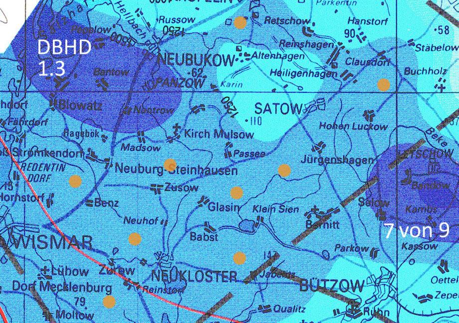 Standorte für DBHD Endlager östlich von Wismar und südlich von Kröpelin südl_Kröpelin_Glasin_Retschow_Heiligenhagen_Züsow_Madsow_  Neuburg_Steinhausen_Jürgenshagen_Jabelitz_Bernitt_Babst