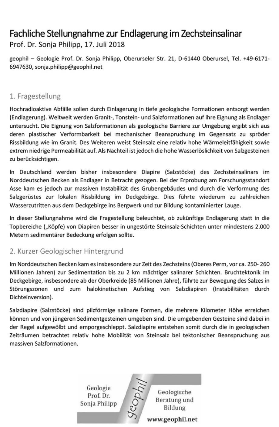 01_Stellungsnahme-Zechstein_Endlagerung_Steinsalz_Diapier_vs_Schicht_Verfasser_Prof_Dr_Sonja_Philipp_DBHD_ART-TEL_ING_Volker_Goebe