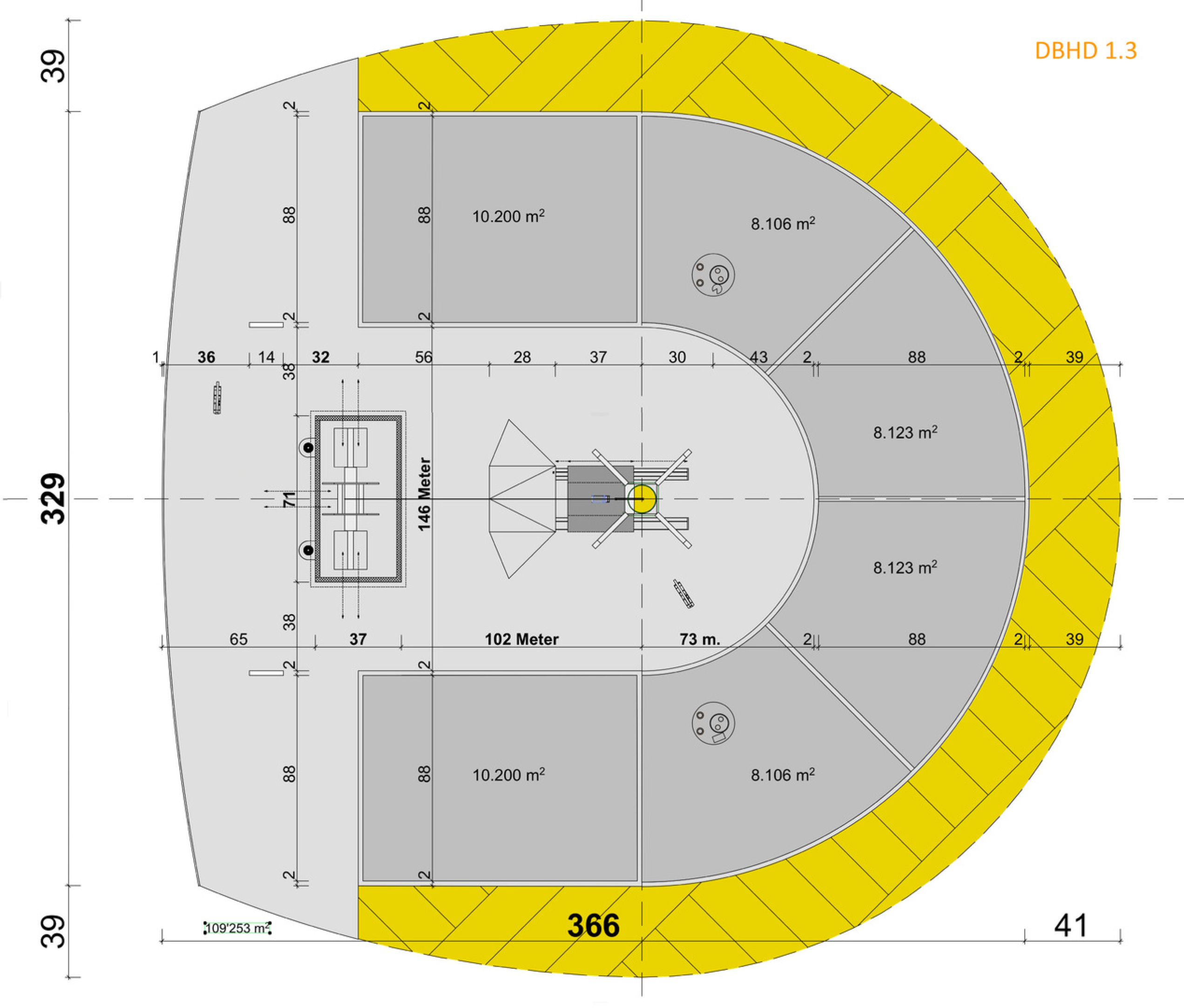 Volker Goebel Endlager DBHD_1.3_Grundriss_Floorplan_Surface_Oberfläche_Endlager_M-V._BFE_BGE_Ing_Goebel_Fachplanerjpg