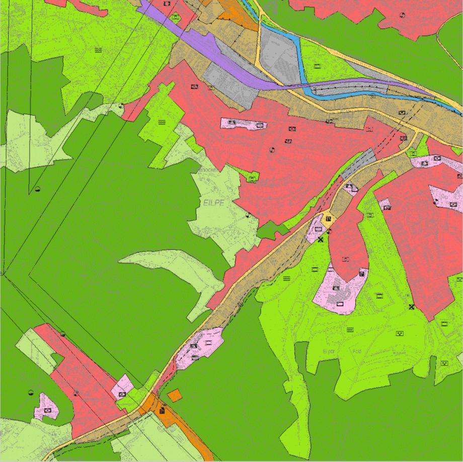 Beispiel-Bild zum Flächen-Nutzungs-Plan