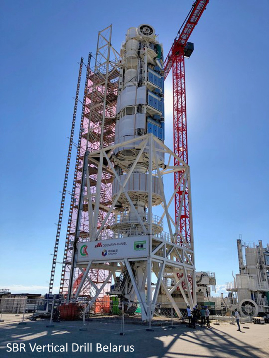SBR - Number 3 of this drilling techn. generation is at work now ...