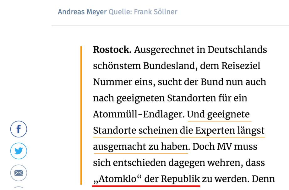 https://www.ostsee-zeitung.de/Nachrichten/MV-aktuell/Kein-Atommuell-Endlager-MV-hat-schon-genug-Muell