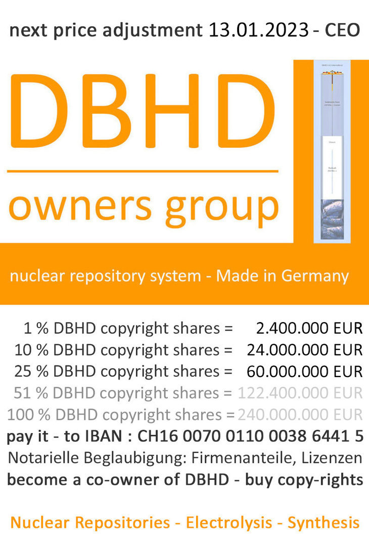 DBHD copyright share - helps the world - makes you rich(er) - buy DBHD copyright shares