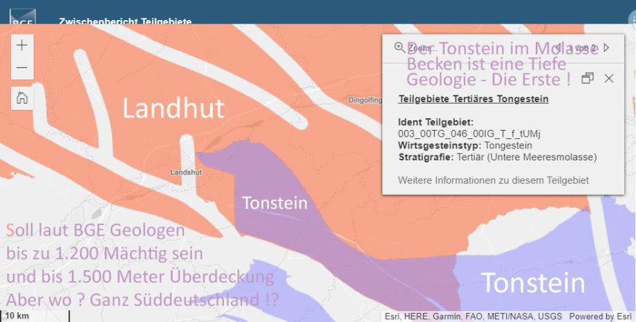 Molasse Becken - wie tief sind die Grundwasserleiter ? - Fliesst das Wasser Richtung Norden oder wie im westen unter den Alpen durch ?