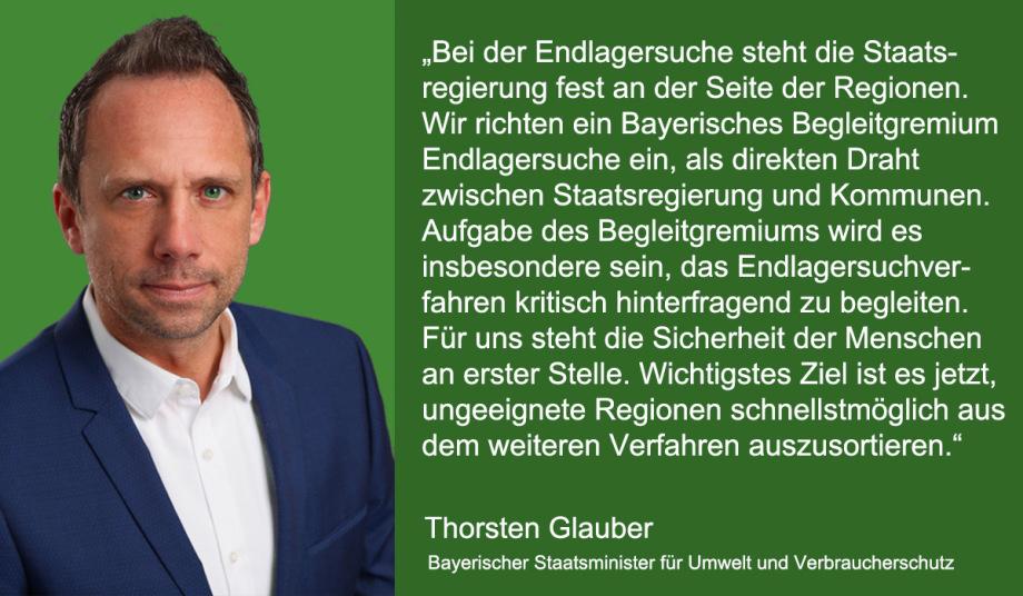 Regierungs-Erklärung Bayern von Minister Glauber