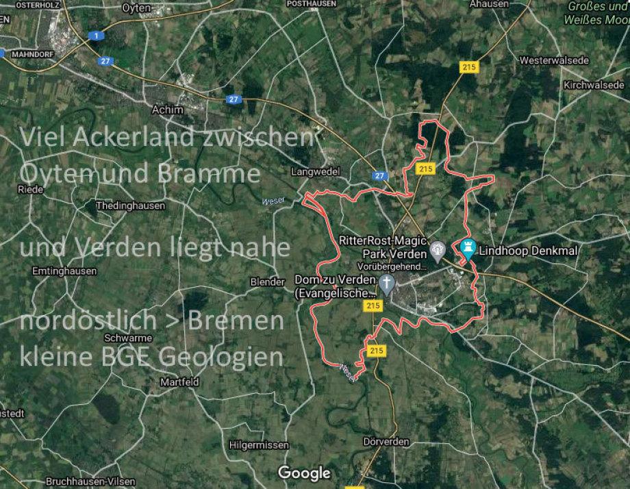 Viel gutes Ackerland zwischen Oyten und Barme