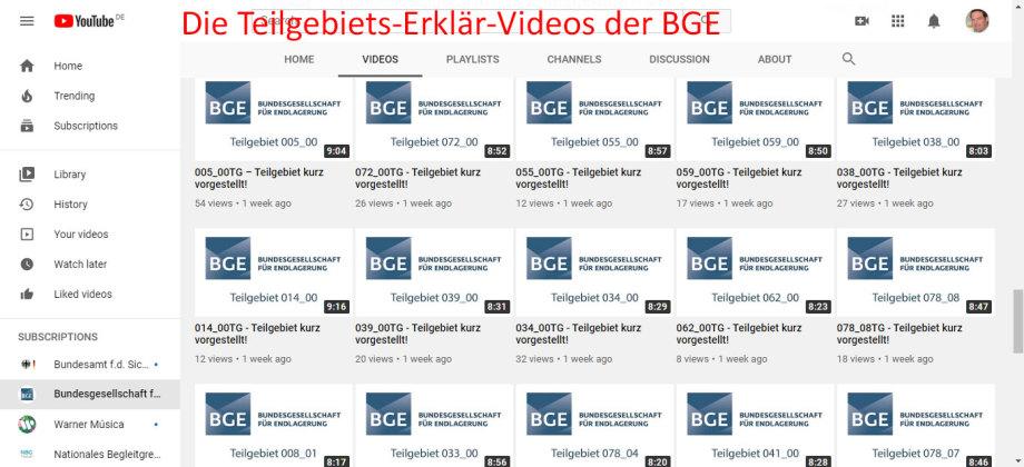 Die nervigen Teilgebiets-Erklär-Videos der BGE