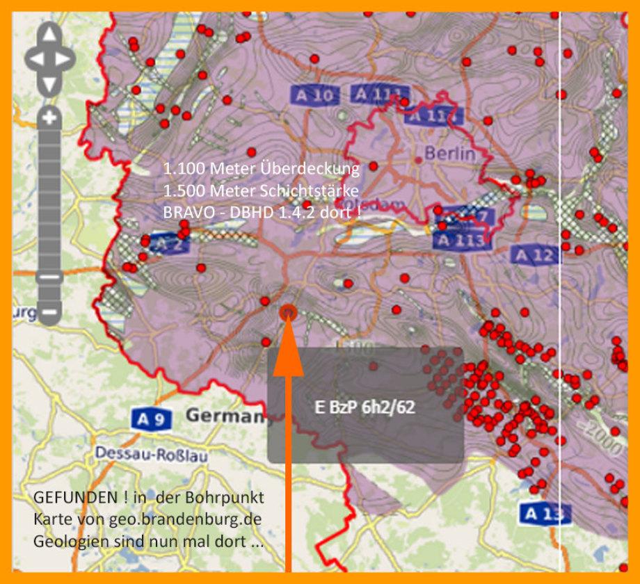 Geeignete Geologie für DBHD 1.4.2 bei Dessau-Roßlau