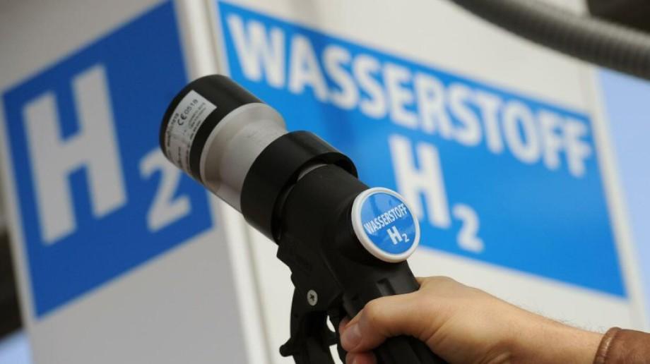 Tankstellen Zapfhan für Wasserstoff