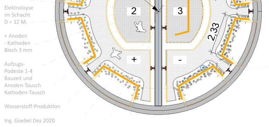 >>> Details_Floorplan_113_sqm_Construction_Elektrolysis-Shaft-Location_Ing_Goebel - Ring-Room - Wall - Anode - Cathode - Intermediate Levels for Construction - #Shaft #Electrolysis