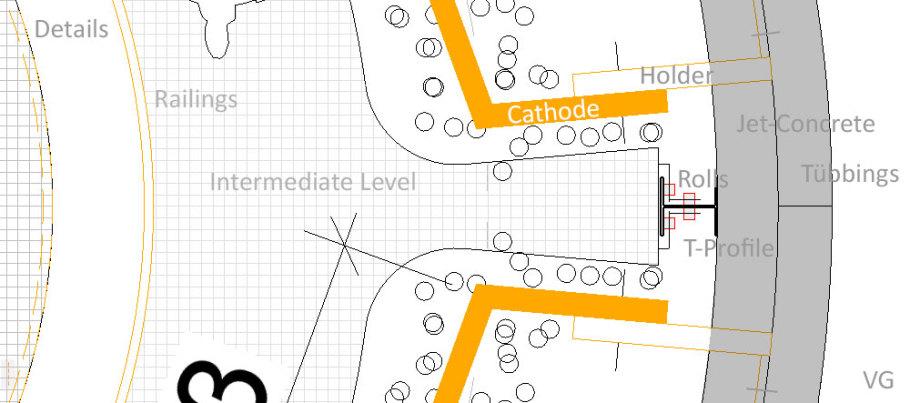 >>>More_Details_Floorplan_113_sqm_Construction_Elektrolysis-Shaft-Location_Ing_Goebel - 4 liftable intermediate levels - rolls in I-Profiles - #Shaft #Construction #Electrolysis #Location #XL