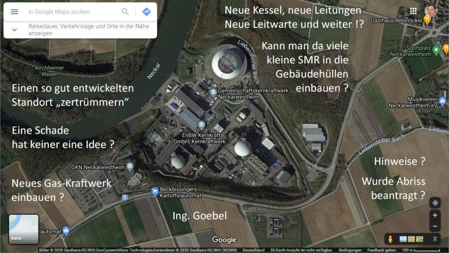 Neckarwestheim - Abriss ? - Umbau ? - Nachnutzung ?