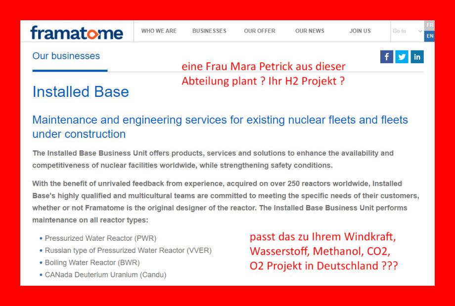 Framatome - Die haben Reaktor-Wissen - Ab 2022 alle Reaktoren aus in DE.