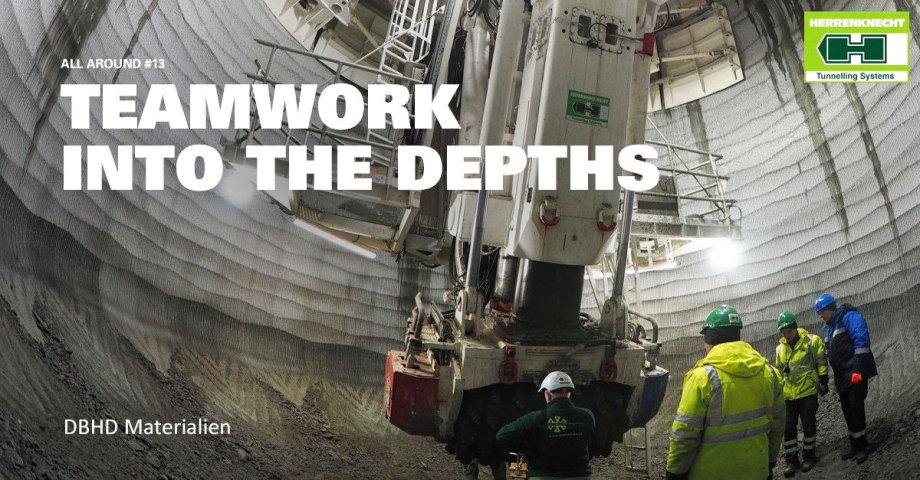 for deep shafts it needs SBR drill tech