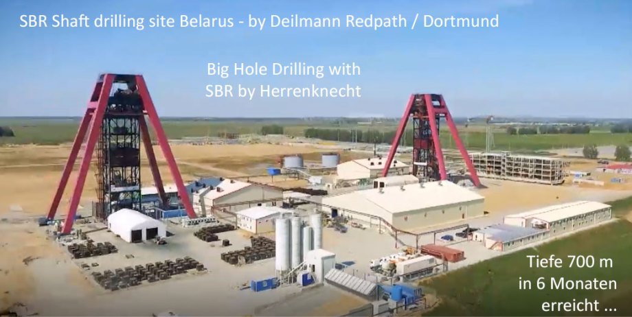 SBR Big Hole Drill Tech Operator Deilmann Redpath Dortmund DE