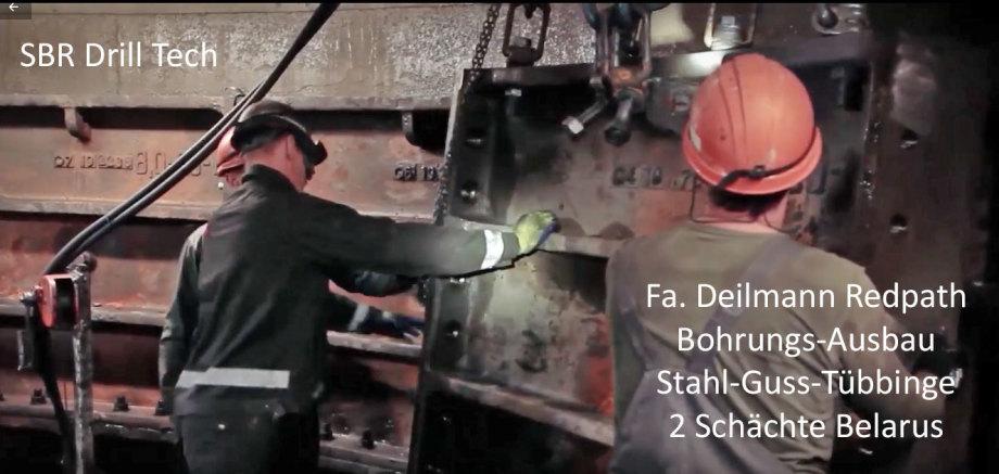 SBR Shaft Drilling Technology by Deilmann Redpath Dortmund Germany