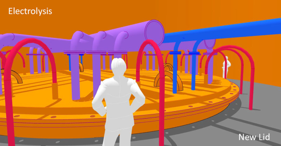 >>> Electrolysis-Shaft-Plan - NEW LID - economic duty - #Electrolysis