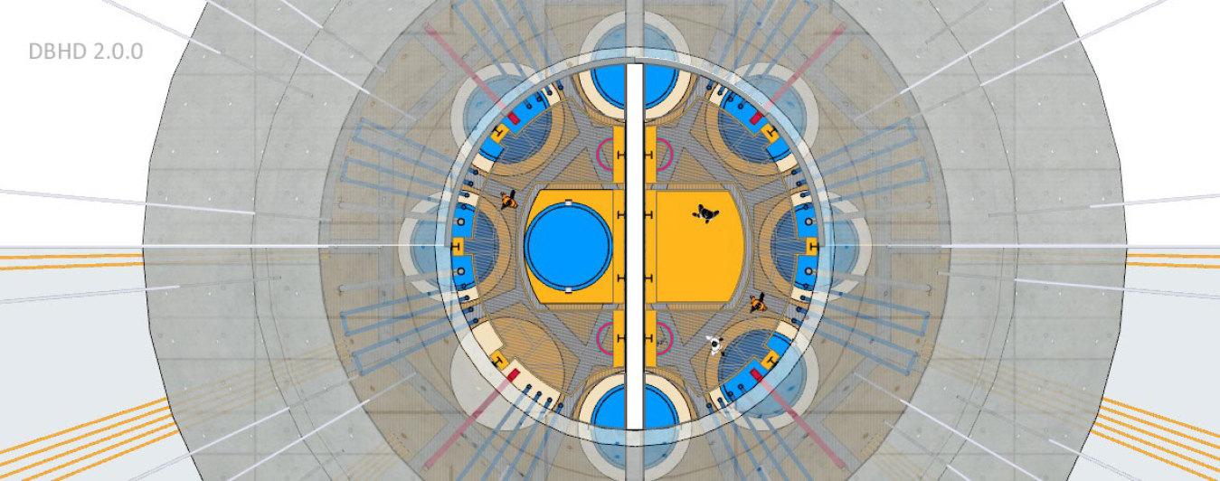 >>> 3D Grundriss Zugangs-Schacht DBHD 2.0.0 HLW Endlager >>> 3D Floorplan Entrance-Shaft DBHD 2.0.0 HLW GDF HLW #Grundriss #Floorplan #DBHD #Endlager #NuclearRepository