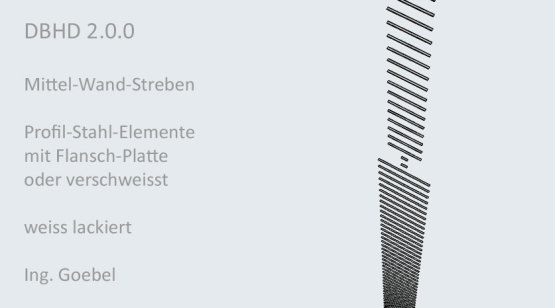 Mittel-Wand-Streben im DBHD Endlager Schacht 2.0.0