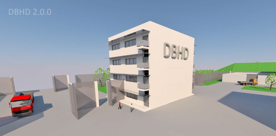 ">>> The Office Building within DBHD 2.0.0 Building Site Plan also contains the electric power connection coming from the street - that is why we call it ""Office-Power-Building"" - #DBHD #Office #Power #Building"