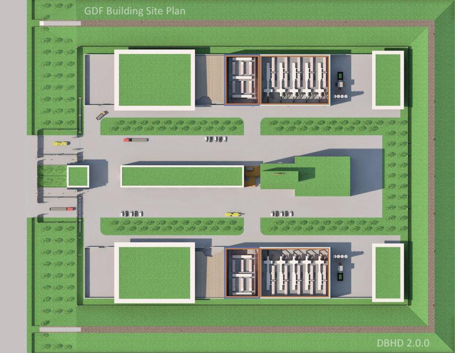>>> Floorplan in 3D - DBHD 2.0.0 GDF Building Site - latest version - #DBHD