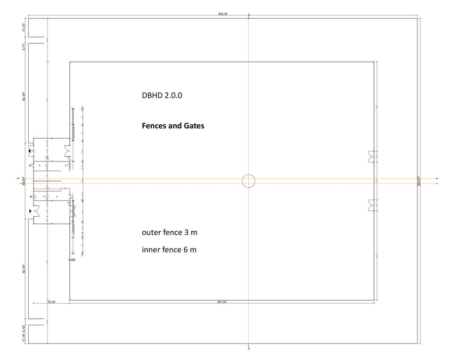 >>> Complete Measuresment for Fences and Gates DBHD 2.0.0 GDF Building Site - transparent fences - good quality - not easy to climb - color coating in silver, a light grey - #DBHD #Gates #Fences #Measurement #Security