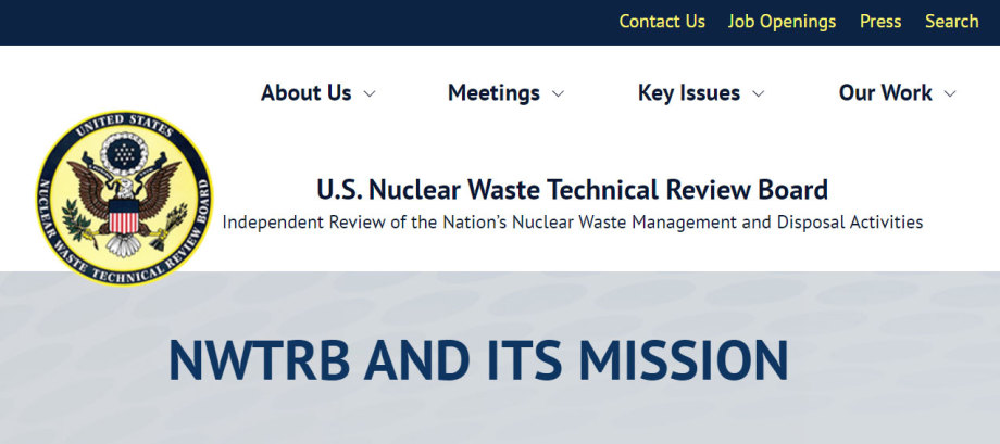NWTRB - US Nuclear Waste Technical Review Board