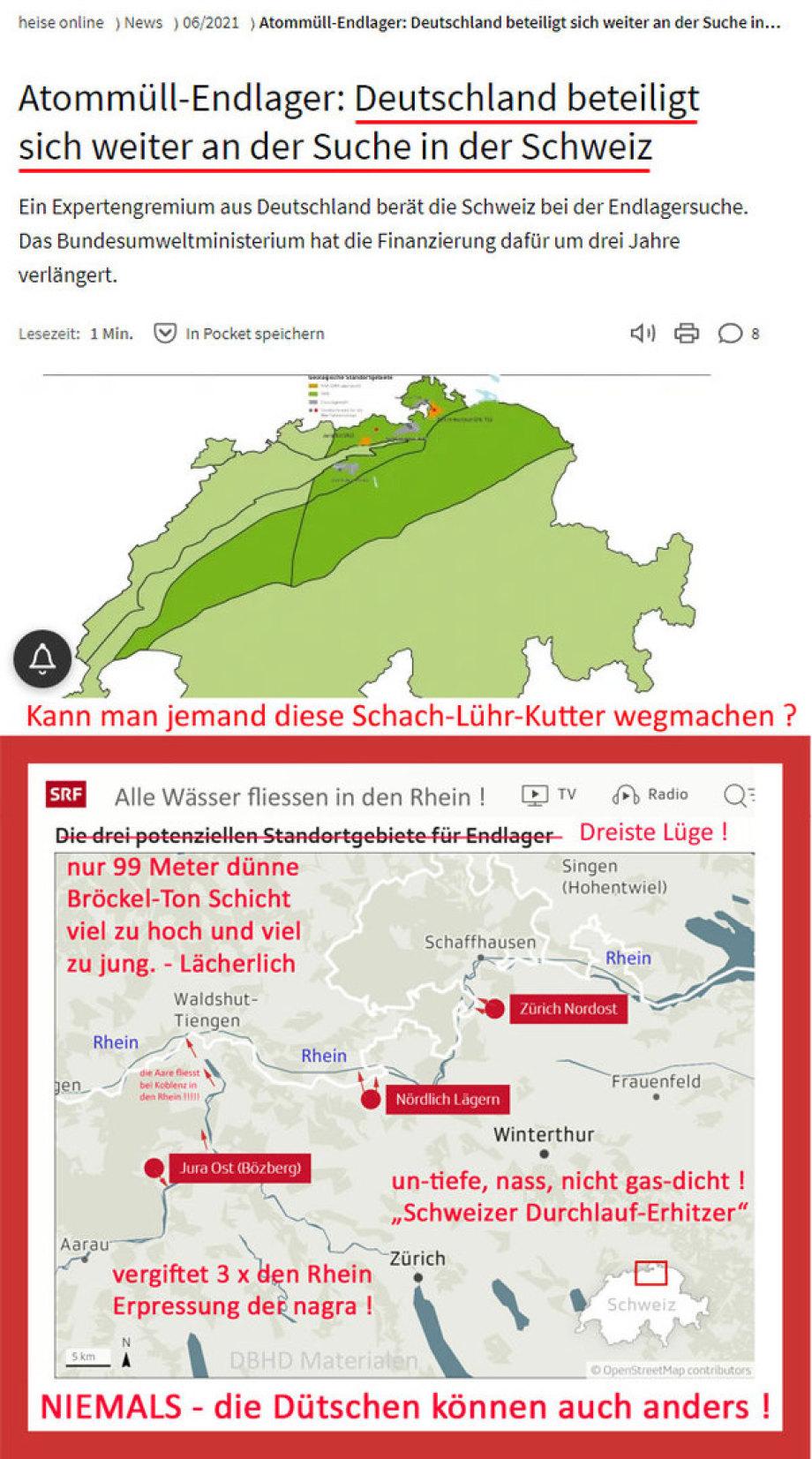 - UNGLAUBLICH - Schwache-Lühr-Kutter BMU fördert den Schweizer Durchlauf-Erhitzer mit Geld + Personal
