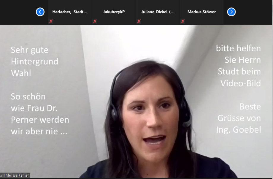 >>> Es gibt bei der BGE auch Leute die ein vernünftiges Video-Hintergrundbild haben - BRAVO - #BGE #Video