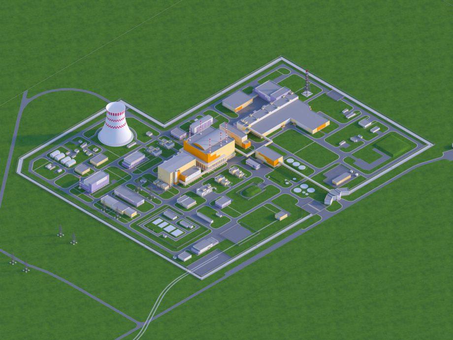 Planung oberirdische Anlagen für Brest 300 bei Sewersk bei Tomsk Russland