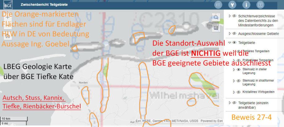 Beweis : Auschluss-von-geeigneten-Flächen-der-BGE---Standort-Auswahl-NICHTIG