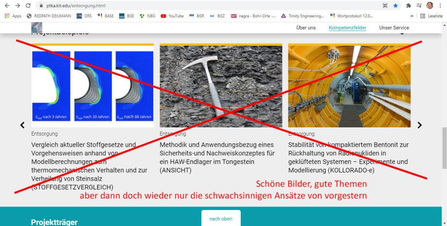 KIT EDU Projektträger Dr. Pitterich - SCHLIESSEN - nicht mehr reformierbar