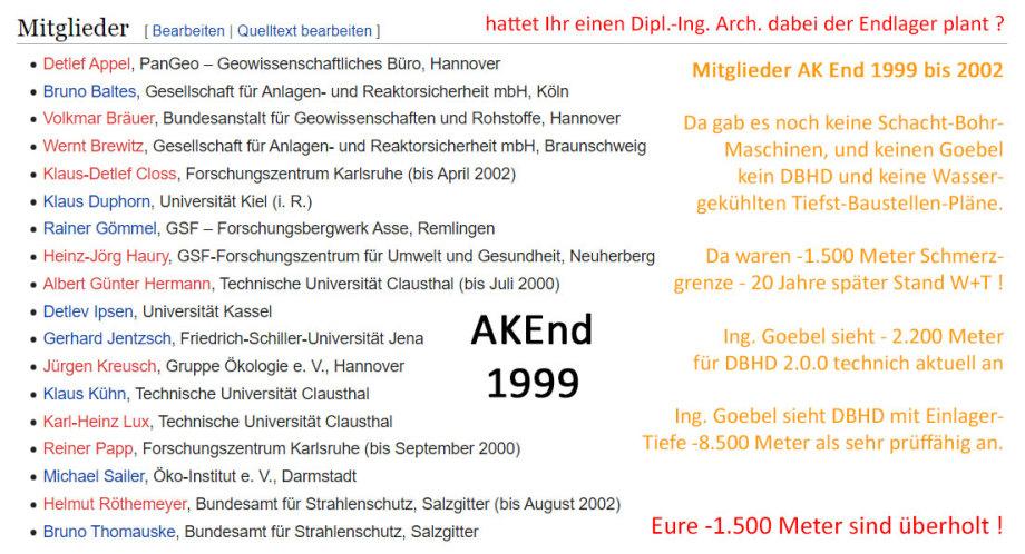 AK End 1999 bis 2002 - Sailer und Kollegen