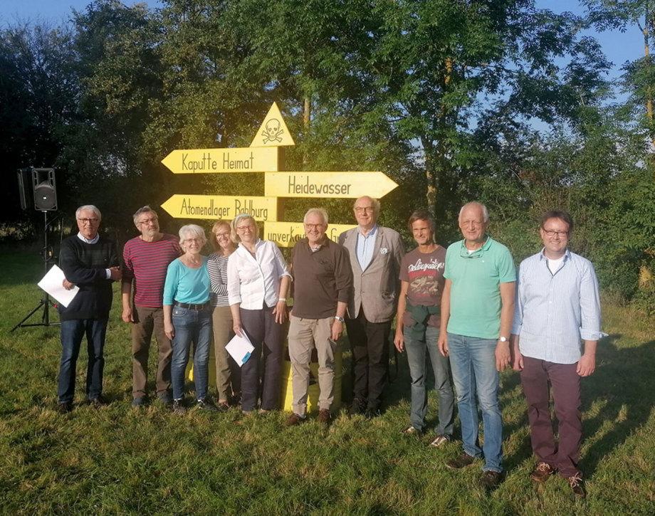 Bürger Initiative Bahlburg - auch grosser Diapir - aber ziemlich angenagt von einem Elb-Urstromtal