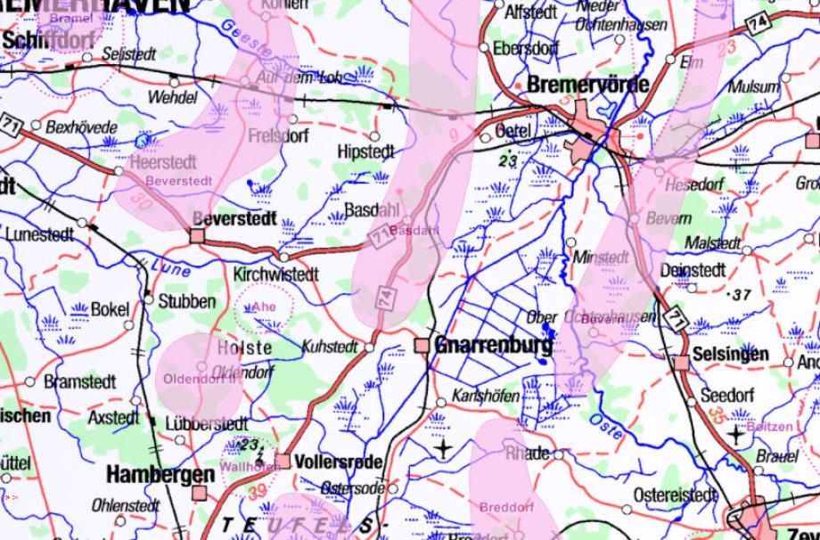 Geologie im DBHD Land