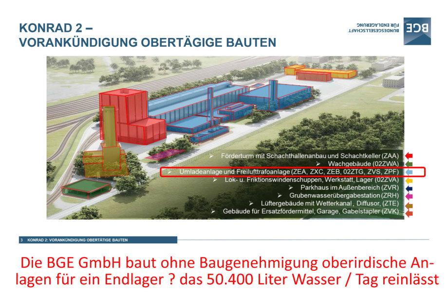 Konrad 2 Salzgitter - oberirdisches Bauen ohne Baugenehmigung