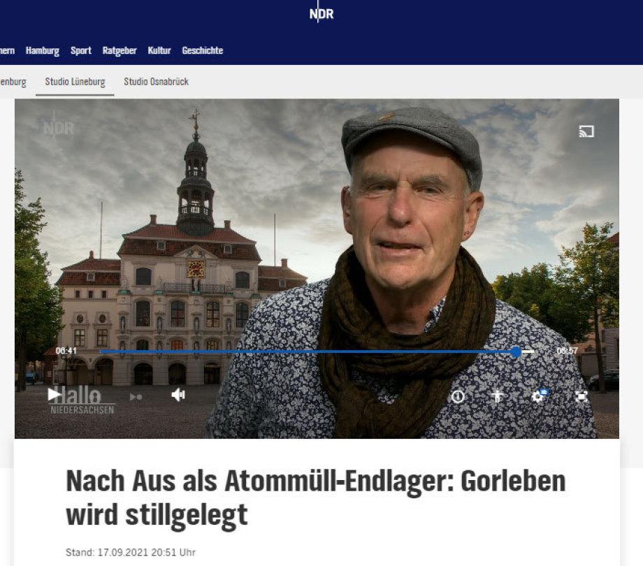 Wolfgang Ehmke - BI Lüchow-Dannenberg - RESPEKT