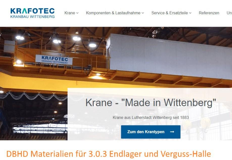 Fa. KRAFOTEC Kranbau Wittenberg - Teichmann Kranbau Gruppe