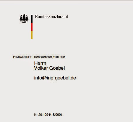 Frau Dr. Merkel - Danke
