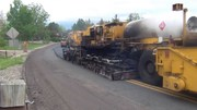 hot in place asphalt recycling trucks