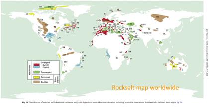 Steinsalz weltweit - uns liegen Interessens-Bekundungen aus 32 Ländern vor