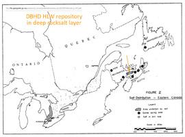 Rocksalt geology Canada