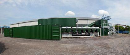 冷空气通风系统 + 8°C,用于竖井矿库DBHD