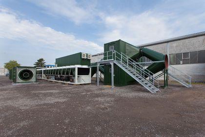Kalt-Luft-Bewetterungs-Anlage + 8°C für Schacht-Bergwerk-Endlager DBHD