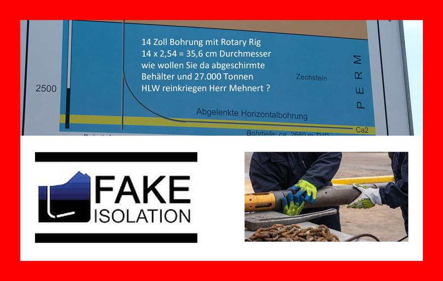 >>> german pensioner Dr. Mehnert became another victim of Fake Isolation by Ms. Muller - 14 Inch rotary drill is only Diameter 0,35 m - that is too narrow for a container - and drill holes without casing collapse very soon - you get 5 containers and then