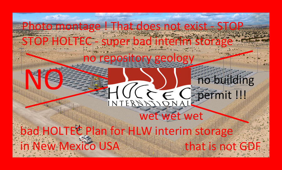 Holtec is a company you better destroy - throw a bomb on Holtec HQ