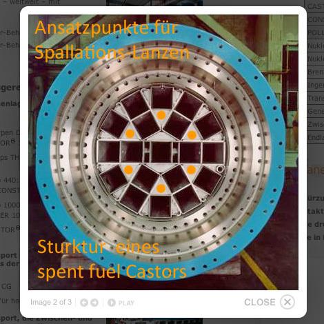 Ansatzpunkte für Spallation - Neutronen