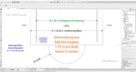 Detail_Schacht_Fusspunkt_Einlagerungsbereich_DBHD_Wassergekuehltes_Schacht-Bergwerk_Bauphase_Endlager_Atommuell