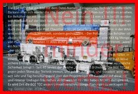 >>> Protest gegen minderwertige BGE TEC Endlager Planungen - keine Sicherheit